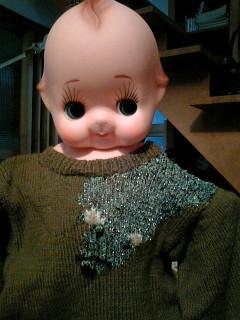 QP/ミンクのセーター